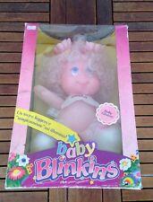 1985 Vintage#Nrfb  Ljn Blinkins Baby Twinkle Doll Baby Glisten Light Nib Rare