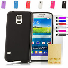 Silicone Gel Fitted Case Cover for Samsung Galaxy S5 Mini G906 + Screen Guard