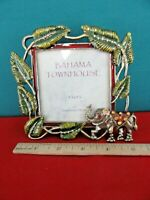 324. Picture Photo Frame  3.5 x 3.5 Bahama Townhouse by Sheffield Home ELEPHANT
