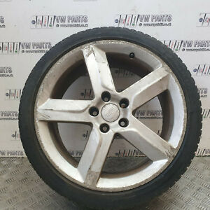 """SEAT EXEO 18"""" ALLOY WHEELS WITH TYRES 225/40/R18 3R0601025B CHECK PHOTOS"""