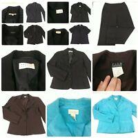Lot 8 Size 12 Women's Blazers Suit Jackets Set Career Office Business Clothes