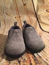 MERRELL Toddler Suede Mini  Moc Shoes ~Size 4 Light Blue