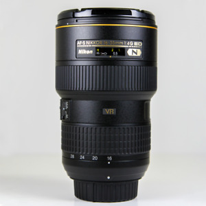 Nikon 16-35mm f/4 AF-S G ED VR Wide Angle Zoom Lens