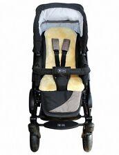 Baby Lammfell Auflagen für Tragetasche, Kinderwagen, waschbar, ca. ca. 77x35 cm