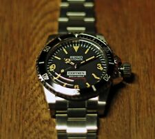 Vintage 5512 Submariner Explorer 369 Style Homage/Mod watch, Seiko NH35 Movement