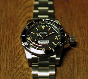 Vintage 5512 Explorer 369 Style Homage/Mod Watch, Seiko NH35 Automatic Movement