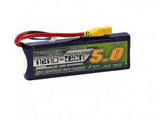Turnigy Nano-Tech 5000mAh 2S 7.4V 65C 130C Lipo Battery XT90 Car Truck Plane EDF