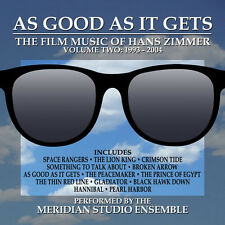 AS GOOD AS IT GETS: THE FILM MUSIC OF HANS ZIMMER VOl. 2 (Newly Recorded)