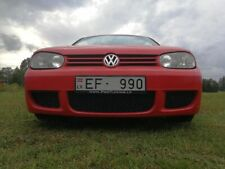 VW Golf IV MK4 Complete Full Front Bumper R32  style - ABS Plastic