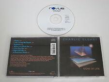 CHARLIE ELGART/SIGNS OF LIFE(NOVUS 3045-2-N) CD ALBUM