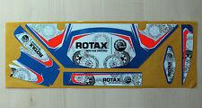LH EUROPEAN STYLE ROTAX RADIATOR STICKER KIT - KARTING