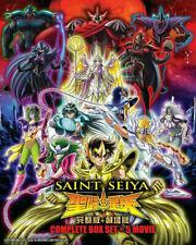 Saint Seiya Complete Box Set + 5 Movies with English Subtitle