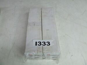 100 x ABB 1SNA115486R0300 Screw Clamp Terminal Blocks MA2.5/5 *New*