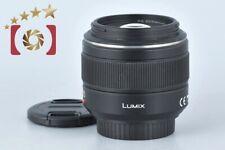 Excellent!! Panasonic LUMIX LEICA DG SUMMILUX 25mm f/1.4 ASPH. H-X025