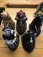 Vintage Dr Who JOBLOT Action Figures Daleks & Davros VGC Collectable