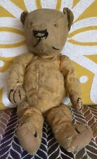 """Old Vintage Antique 15"""" Chad Valley Magna Teddy Bear Well Loved & In Need Of TLC"""