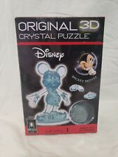 New listing Disney Bepuzzled Original 3D Crystal Puzzle Mickey Mouse 2013 New
