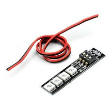 RGB 5050 LED Lamp Panel 16V 4S Lipo 7 Colors Switch For RC Drone FPV Racing DE