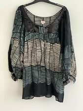 KENZO WOMAN  BLOUSE / TUNIC  ; SIZE 40; 100 % AUTHENTIC ;