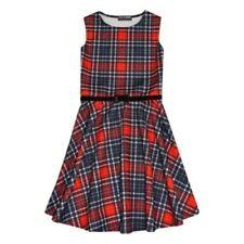 Vestidos de niña de 2 a 16 años rojo