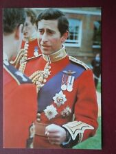 POSTCARD ROYALTY PRINCE OF WALES AT WINDSOR REGIMENTAL DRESS
