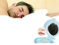 New Silicone Anti Snore Stop Snoring Nose Clip Sleep Tray Sleeping Aid