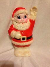 Vintage Santa Clause Squeak Squeeze Toy Rubber Vinyl Sanitoy NY