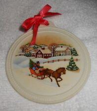 """Avon """"Christmas 1985""""  Holiday Christmas Ornament"""