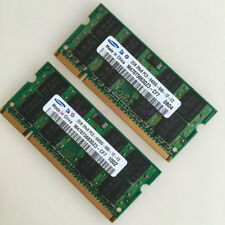Samsung 4GB 2x2GB PC2-6400 2Rx8 DDR2 800 MHZ Laptop 200Pin Speicher SODIMM SDRAM