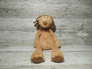 """Jellycat 11"""" Lion Yellow And Brown Plush"""