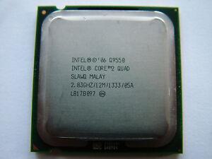 Intel Quad Core2  Q9550  2,83 GHz 12M / LGA775 QuadCore Prozessor
