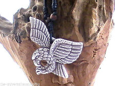 NATIVE AMERICAN  NECKLACE  BLESSED SAGE RITUAL SOARING EAGLE SPREAD WINGS