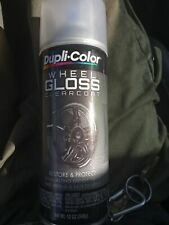 Duplicolor HWP103 Gloss Clear Coat Wheel And Rim Spray Paint Aerosol 12oz.