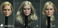 Mancotoys Captain Marvel 1/6 Brie Larson Head For HT toys in stock