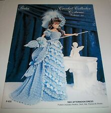 PARADISE 1883 AFTERNOON DRESS FASHION CROCHET PATTERN 11 & 1/2 INCH DOLL 032