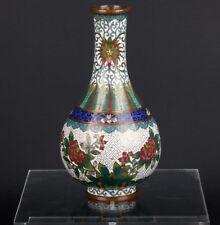 China 19./20. JH. - a Chinese Cloisonné Bottle Vase Lao Tian Li-cinese Chinois