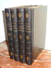 DICTIONNAIRE UNIVERSEL DE CUISINE ET D'HYGIÈNE ALIMENTAIRE - J. Favre -4 VOLUMES