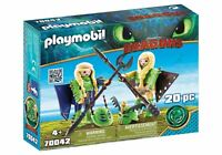 Playmobil 70042 DreamWorks Dragons Ruffnut and Tuffnut with Flight Suit Firgures
