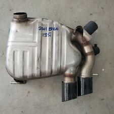 2011 BMW 135i DUAL EXHAUST REAR MUFFLER SECTION ONLY USED OEM