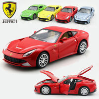 1:32 Ferrari FLL F12 Metal Diecast Model Vehicle Pull Back Car Collection Toy