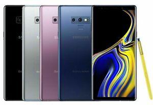 Samsung Galaxy Note 9 T-Mobile Verizon AT&T 128gb GSM/CDMA Unlocked Smartphone