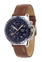 Aviator AVW78420G388 F-Series Men's Chronograph WorldTime Watch