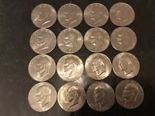 Eisenhower Dollar Ike 1971-1978 P D COMPLETE 16 coin Set   AU TO BU