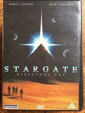 James Spader Kurt Russell STARGATE Director's Cut | 1994 Sci-Fi Classic UK DVD