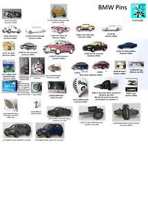 BMW Pins 1990er bis 2010er Jahre Abzeichen AUSSUCHEN ░▒▓█▀▄▀▄▀▄█▓▒░