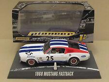 Pioneer P029 1968 Fastback Mustang #25 SDF Team w/Red Wheels Ltd Ed 1:32 SlotCar