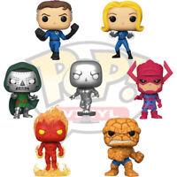 Official Fantastic Four Dr Doom Galactus Marvel Funko Pop Vinyl Figures