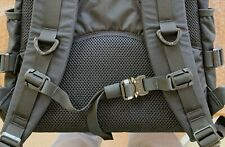 """Black Backpack Cobra Buckle Sternum Chest Strap 1""""-3/4"""" Milspec Webbing"""