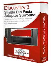 Land Rover Discovery 3 stereo radio Facia Fascia adapter panel trim CD surround