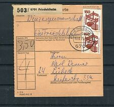 Paketkarte BRD Unfallverhütung MiF Friedelsheim-Lübeck - b3927